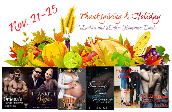 Banner for Thanksgiving erotica promo 2018