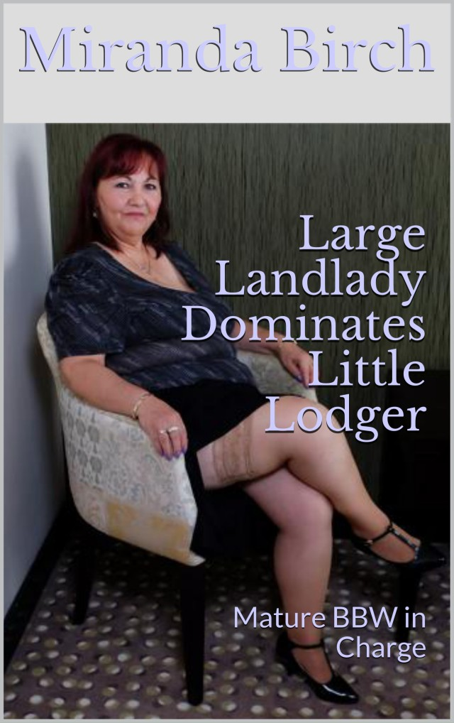 "cover of ""Large Landlady Dominates Little Lodger"""