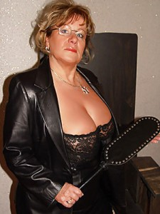 Strict Female Boss Ready To Punish